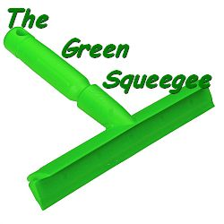 The Green Squeegee logo