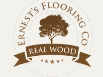 Ernest's Real Wood Flooring Company logo