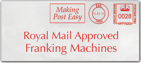 Royal Mail Approved Franking Machines logo