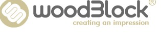 Woodblock Graphic Design and Print logo