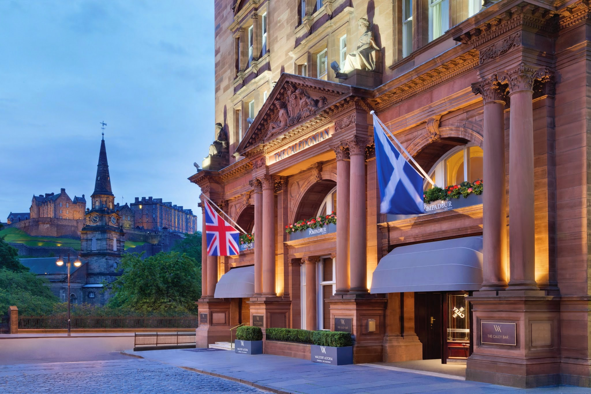 Waldorf Astoria Edinburgh - The Caledonian logo