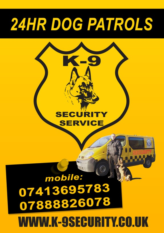 SPECIALIST DOGS SECURITY SERVICES logo
