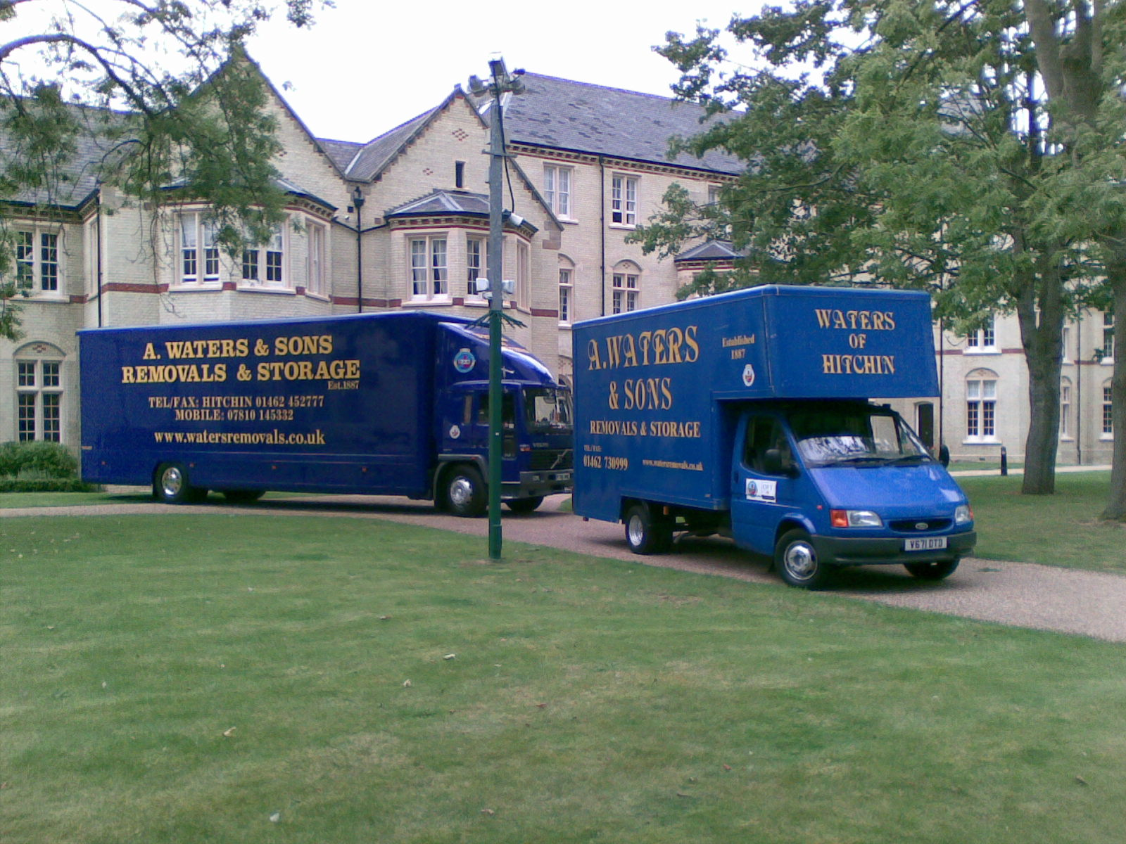 a waters & sons removals & storage logo