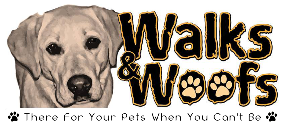 Walks and Woofs logo