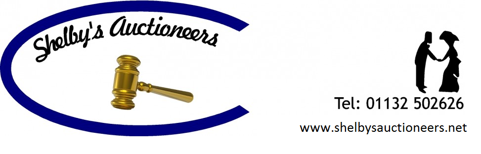 shelbys auctioneers logo