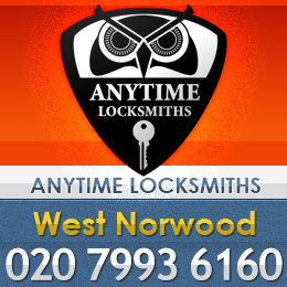 Anytime Locksmiths logo