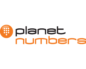 Planet Numbers logo