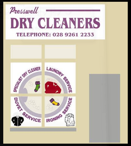 Presswell Dry Cleaners logo