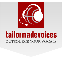 Music Production Company - TailorMade Voices logo