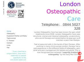 London Osteopathic Care logo
