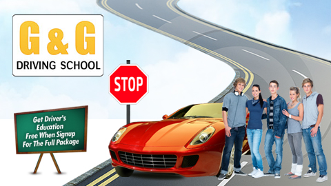 G & G Driving School logo