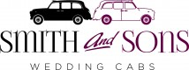 Smith and Sons wedding cabs logo