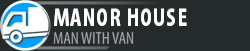 Man with Van Manor House logo